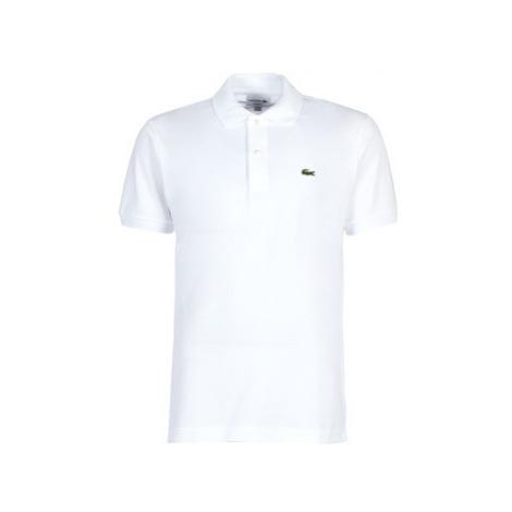 Lacoste POLO L12 12 REGULAR men's Polo shirt in White