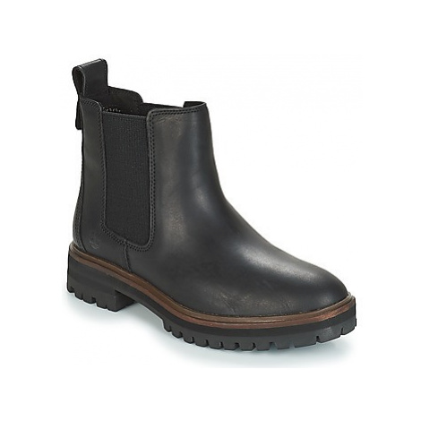 Timberland London Square Chelsea women's Mid Boots in Black