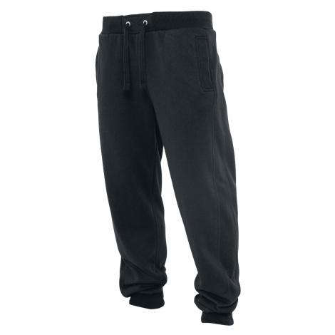 Urban Classics - Straight Fit Sweatpants - Tracksuit Trousers - black