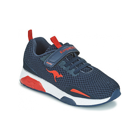 Kangaroos KADEE MESH EV II boys's Children's Shoes (Trainers) in Blue