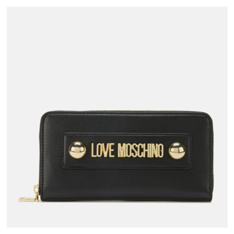 Love Moschino Women's Logo Wallet - Black