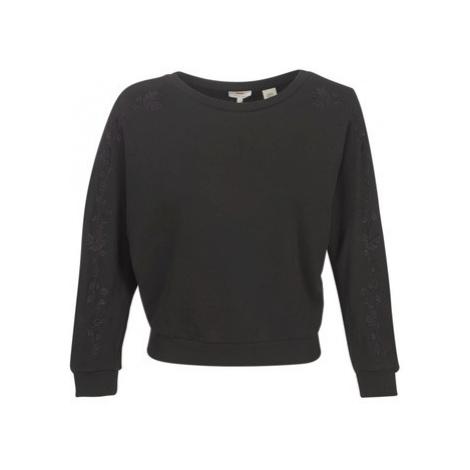 Levis NATALIE CREW women's Sweatshirt in Black Levi´s