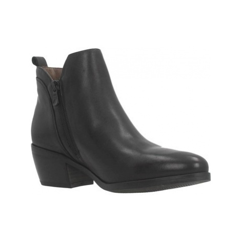 Nero Giardini A908760D women's Low Ankle Boots in Black