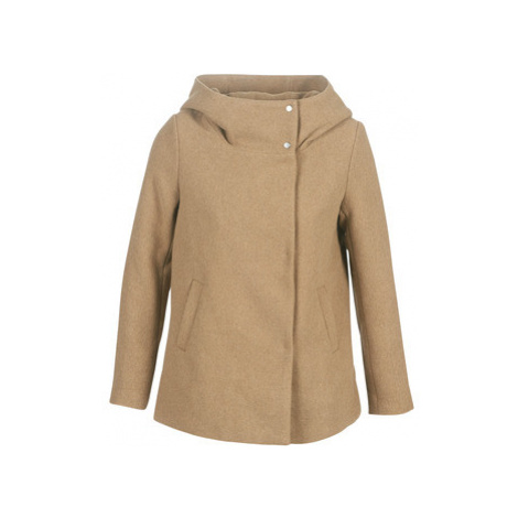Only ONLMADDIE women's Coat in Brown