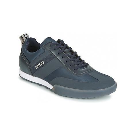 HUGO MATRIX LOWP NYLT men's Shoes (Trainers) in Blue Hugo Boss