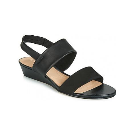 Clarks SENSE LILY women's Sandals in Black