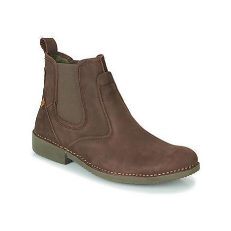 El Naturalista YUGEN men's Mid Boots in Brown