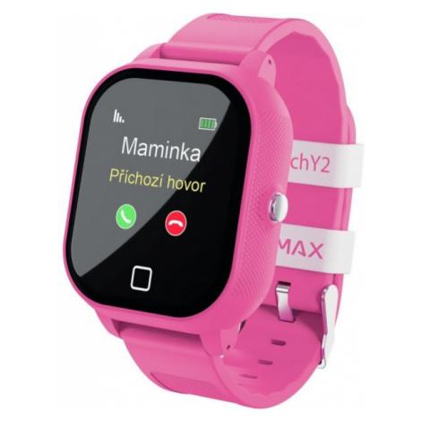 LAMAX WATCH Y2 BLACK pink - Kids' smart watch