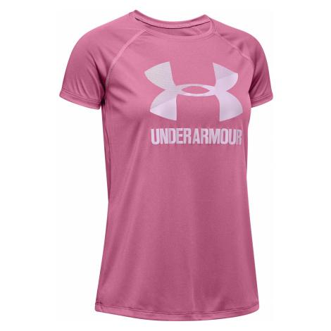 Under Armour Kids T-shirt Pink