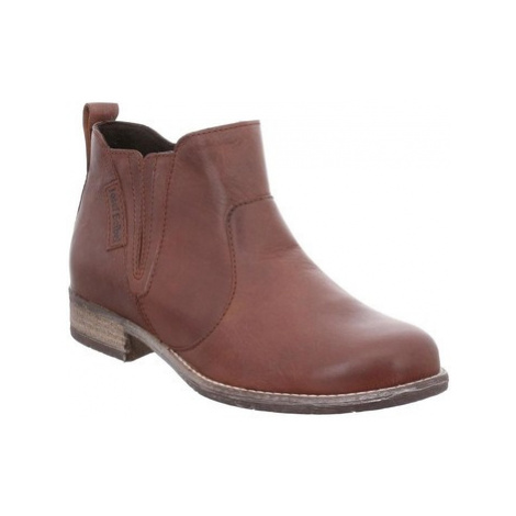 Josef Seibel Sienna 45 Womens Casual Chelsea Ankle Boots women's Mid Boots in Brown