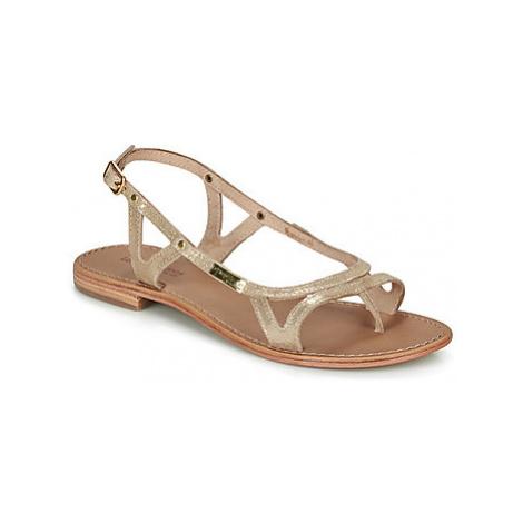 Les Tropéziennes par M Belarbi ISATIS women's Sandals in Gold
