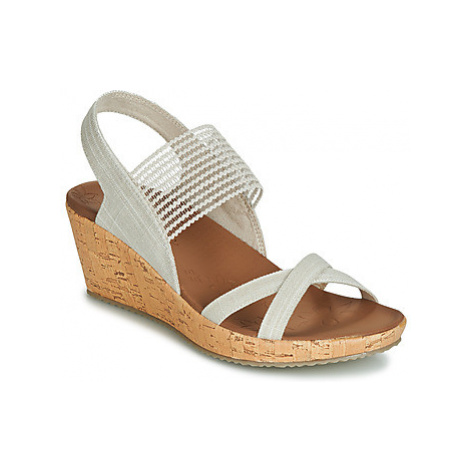Skechers BEVERLEE women's Sandals in Beige