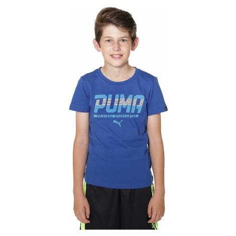 T-shirt Puma Style Graphic - True Blue