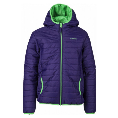Lewro RYN 140-170 blue - Kids' quilted jacket