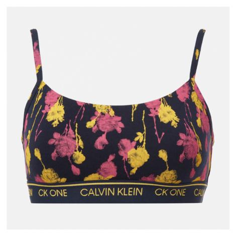 Calvin Klein Women's Unlined Bralette - Sweet Rosie Print