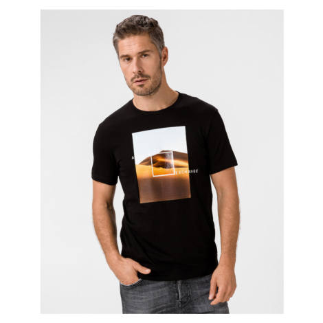 Armani Exchange T-shirt Black