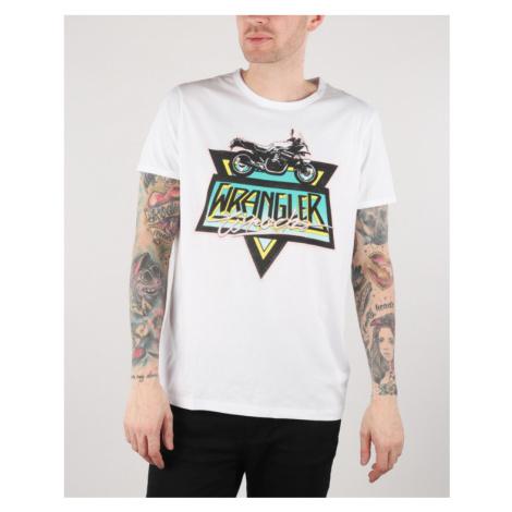 Wrangler Ringer T-shirt White