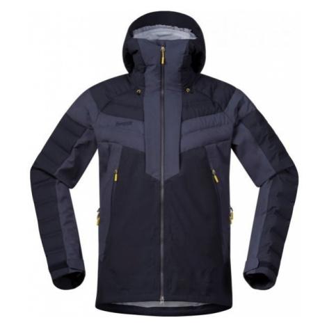 Bergans HEMSEDAL HYBRID JKT dark blue - Men's ski jacket
