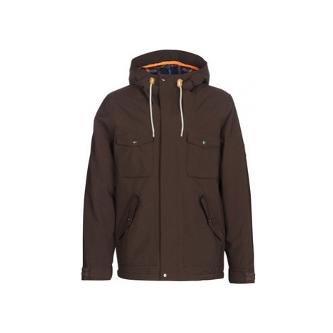Rip Curl PUNCHER ANTI-SERIES JACKET men's Parka in Brown