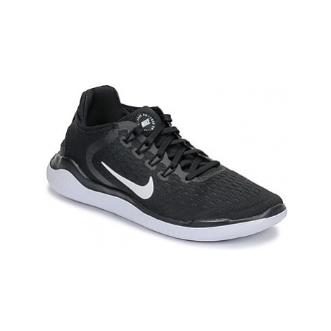 Nike FREE RN 2018 women's Running Trainers in Black
