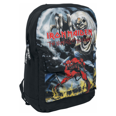 Iron Maiden - Number Of The Beast - Backpack - black