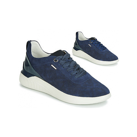Geox THERAGON women's Shoes (Trainers) in Blue