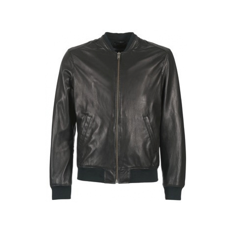 Chevignon B-TED men's Leather jacket in Black
