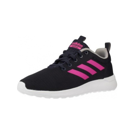 Adidas LITE RACER CLN K girls's Children's Shoes (Trainers) in Blue