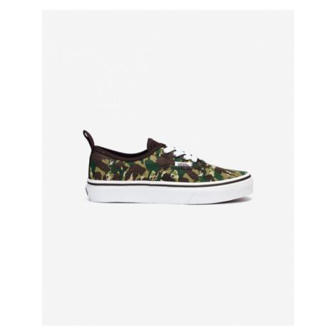 Vans Authentic Kids Sneakers Green Brown