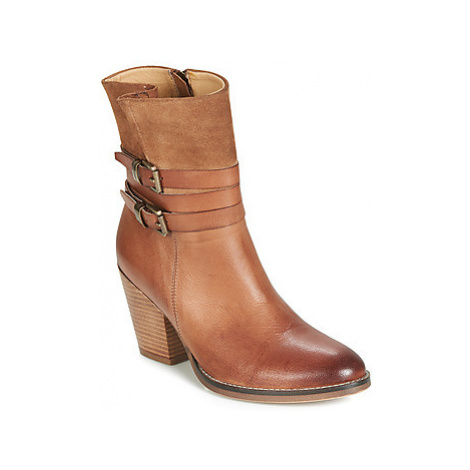 Ravel SHORES women's Low Ankle Boots in Brown