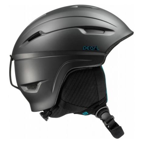Salomon PEARL 4D2 BLACK black - Ski helmet