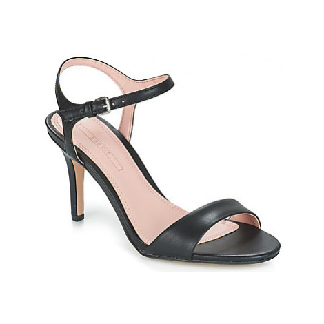 Esprit Valerie Lamb women's Sandals in Black