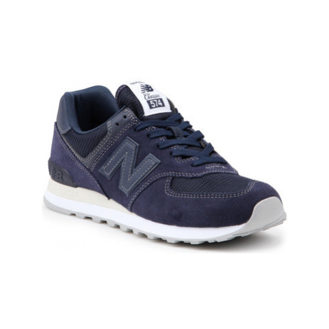 New Balance ML574ETB men's Shoes (Trainers) in Blue