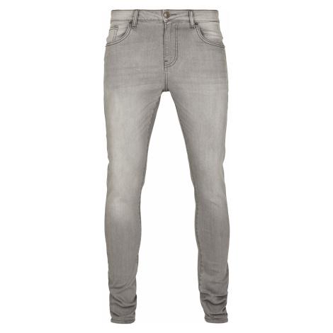 Urban Classics - Slim Fit Jeans - Jeans - grey