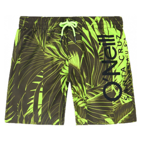 O'Neill PB CALI FLORAL SHORTS green - Boy's swim shorts