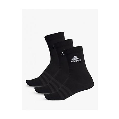 Adidas Light Training Crew Socks, Pack of 3