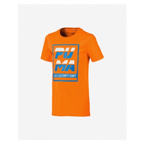 Puma Alpha Kids T-shirt Orange