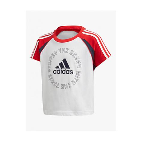 Adidas Girls' Logo Cropped T-Shirt