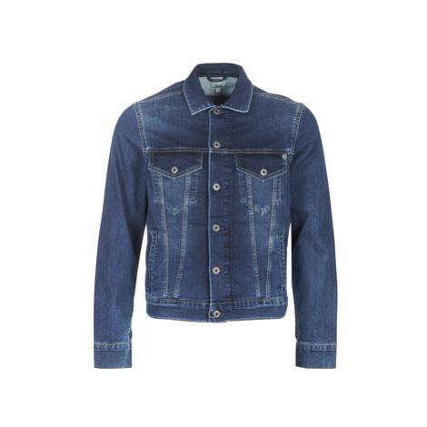 Pepe jeans PINNER men's Denim jacket in Grey