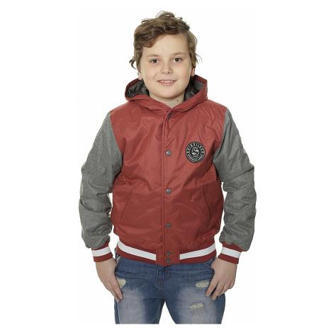 jacket Quiksilver Pretender Hood - RRA0/Rosewood