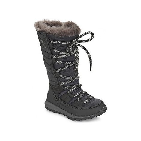 Sorel CHILDREN'S WHITNEY LACE girls's Children's Snow boots in Black