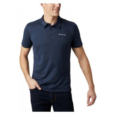 Columbia TRIPLE CANYON TECH POLO dark blue - Men's polo shirt