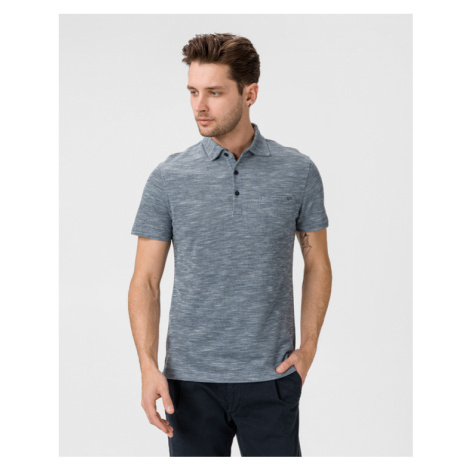 GAS Manny/S Polo Shirt Blue