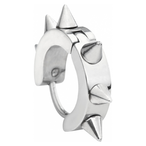 Steel Spikes - - Earring set - silver-coloured