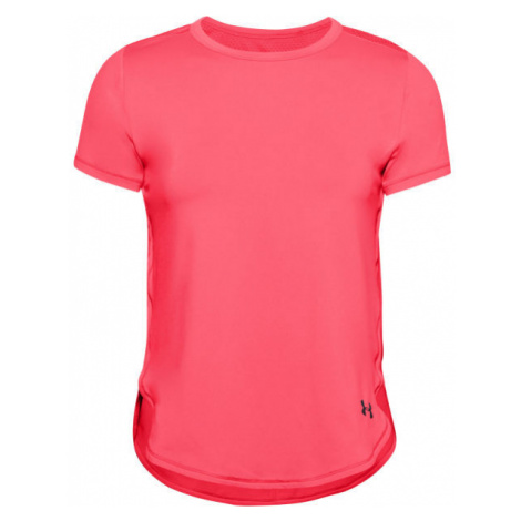 Under Armour ARMOUR SPORT CROSSBACK SS red - Women's T-shirt