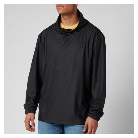 RAINS Men's Mover Ultralight Pullover Jacket - Black - XS-S