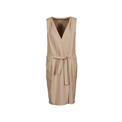 Lola ROOT women's Dress in Beige