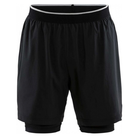Craft CHARGE 2v1 black - Men's sports shorts