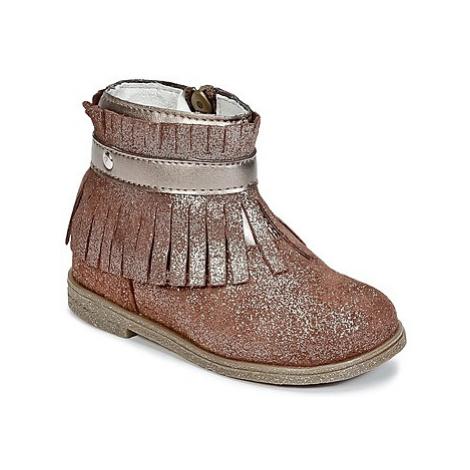 Primigi SIUSY girls's Children's Mid Boots in Brown