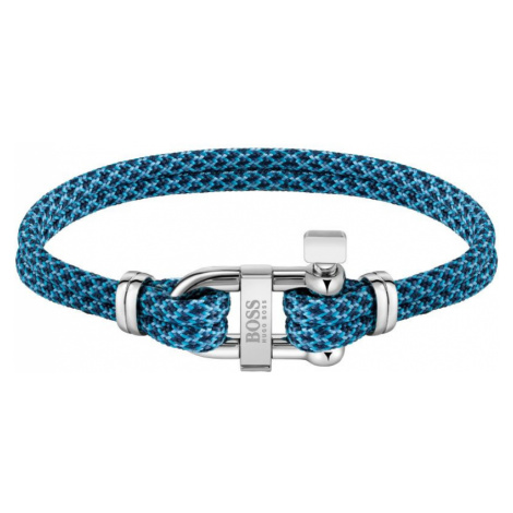 Gents BOSS Jewellery Sailing Cord Bracelet